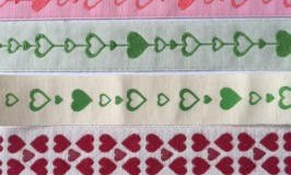 Printed and Woven Fabric Decorative Ribbon