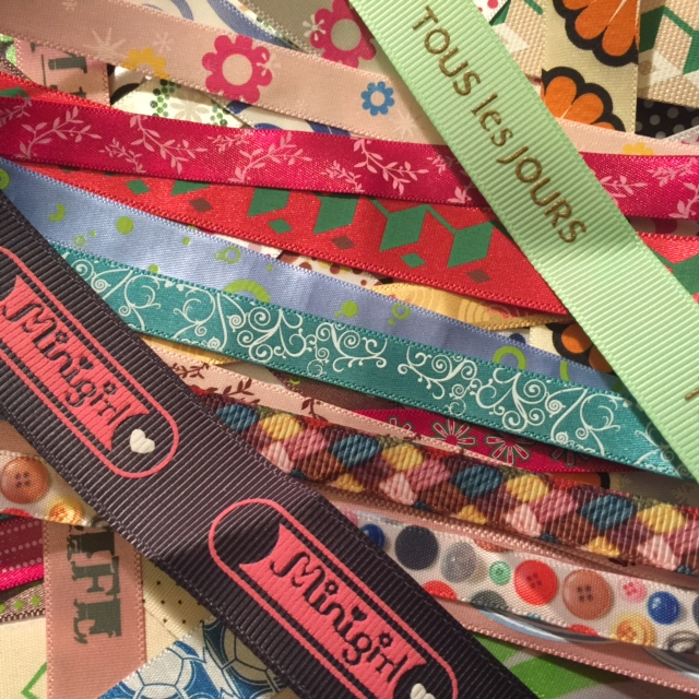 Ribbon Custom Printed