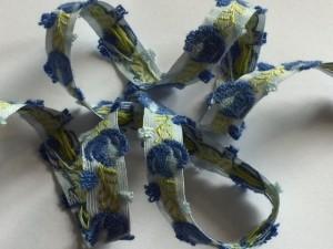 Blaue Blume Webband